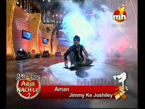 Aman Aujla dance performance barone aaja nachle mh1 channel