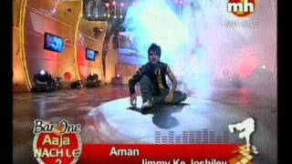 Aman Aujla dance performance barone aaja nachle mh1 channel