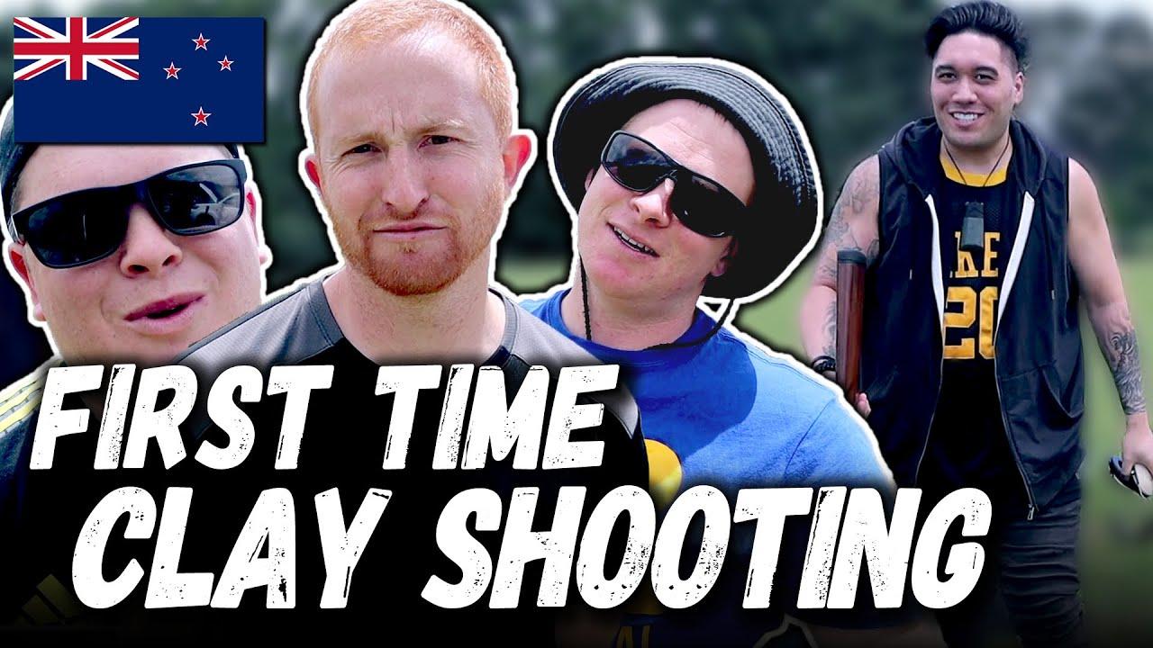 First Time Clay Bird Shooting - NEW ZEALAND VLOG 03 [SEASON 1]