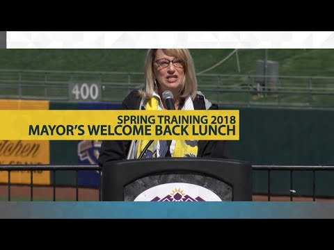 Spring Training 2018 •City of Surprise Mayor's Welcome Back Lunch video thumbnail