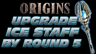 Subscriber Challenge - Upgrade ICE Staff by Round 5 SOLO ORIGINS Zombies Black Ops 2