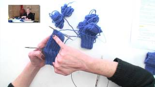 2 Socks at-a-time on 2 Circulars, Parts 1-7