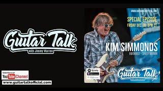 Kim Simmonds Guitarist of Savoy Brown on Guitar Talk with Jimmy Warren