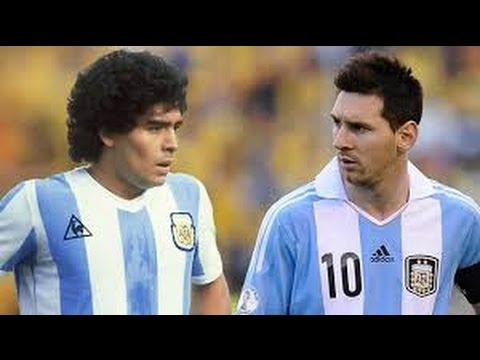 Lionel Messi vs Diego Maradona ? Similar Goals