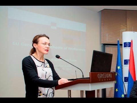 ԵՄ Արտոնությունների ընդհանրացված համակարգին նվիրված միջոցառում ԵՄ արտահանող հայկական բիզնեսի համար