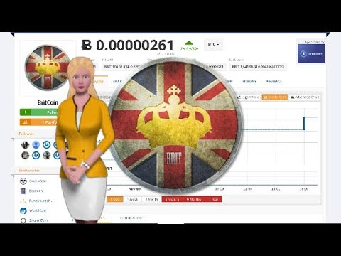 Cryptocurrency BritCoin $BRIT Gains 257% In the Past Day