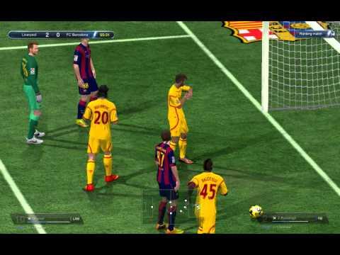 [FIFA ONLINE 3] Liverpool vs. Barcelona (Guardiola System!)