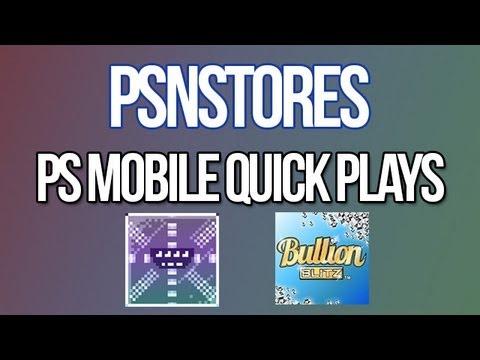 PS Mobile Quick Plays (Magic Planet Snack Deluxe, Bullion Blitz)
