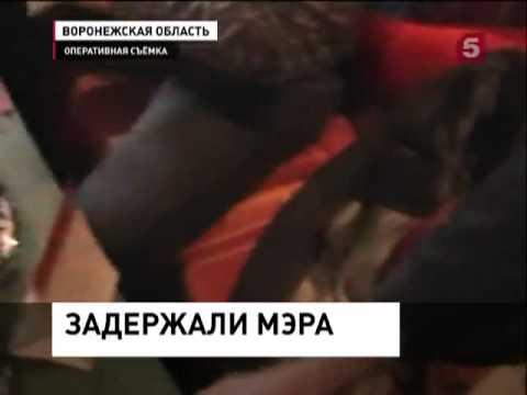 В Воронежской области мэр города Семилуки (16.09.2013)