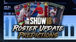 July 13th Roster Update Predictions! MLB The Show 18 Diamond Dynasty