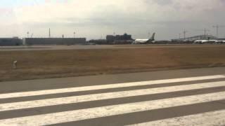 Взлет из Баку - Аэропорт Гейдар Алиев - Внуково Москва