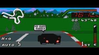 Top Gear (Snes) Carro Negro, Super Cpu