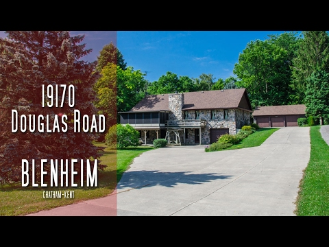 CHATHAM-KENT 17190 Douglas Road, Blenheim [propertyphotovideo]