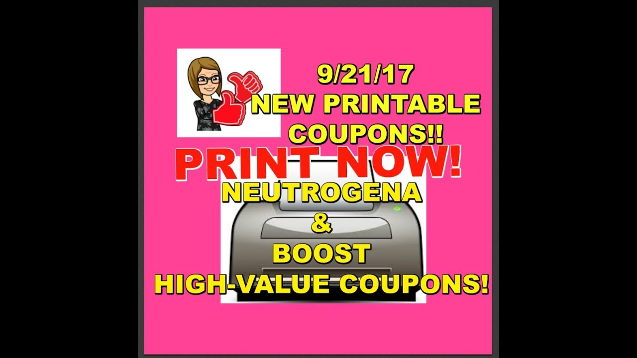 photo regarding Boost Printable Coupons titled PRINT Presently 9/21/17: Refreshing PRINTABLE Discount codes NEUTROGENA Enhance Superior Relevance!
