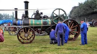Garrett Steam Engine driving rock crusher at the Edendale Crank-up HD version