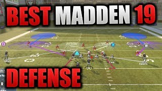 MOST DOMINANT DEFENSE IN MADDEN 19 | SIMPLE & EFFECTIVE MADDEN SCHEME | Madden 19 Tips Defense