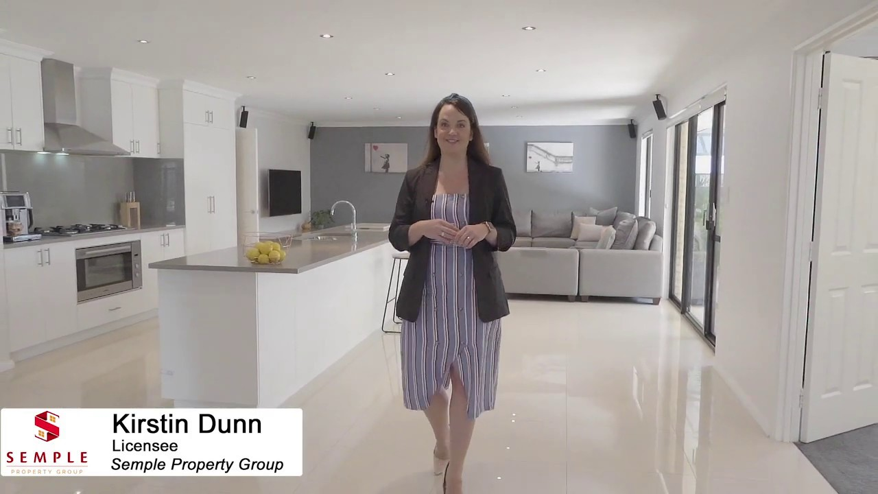Kirstin Dunn of Semple Property Group Presents 62 Barfield, Hammond Park