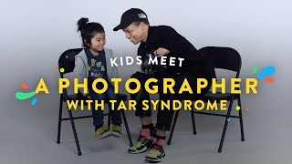 Kids Meet a Photographer with Tar Syndrome | Kids Meet | HiHo thumbnail