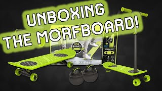 UNBOXING the MORFBOARD From Jakks Pacific Toys! The convertible skateboard scooter!