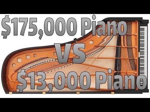 $175,000 Piano Vs $13,000 Piano