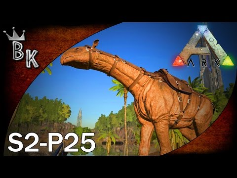 "Ark: Survival Evolved Gameplay - S2-P25: ""Paraceratherium!"""