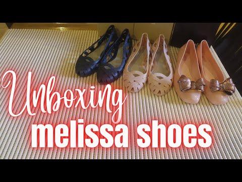Unboxing: Melissa Shoes   Jason Wu VII   Aura II