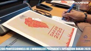 Minute Immo : 200 professionnels de l'immobilier préparent l'opération Dakar 2020