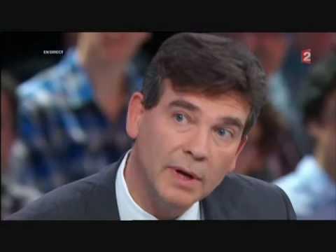 Arnaud Montebourg - Primaire PS - (débat france 2)