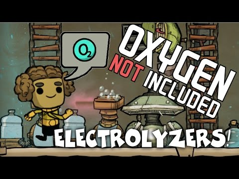 How To Make an Electrolyzer Ventilation System! -  Oxygen Not Included Tutorial/Guide