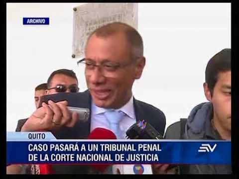 Juez llama a juicio a vicepresidente Jorge Glas