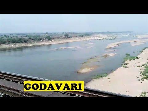 WAP4 Kerala Express Godavari 2nd Longest River