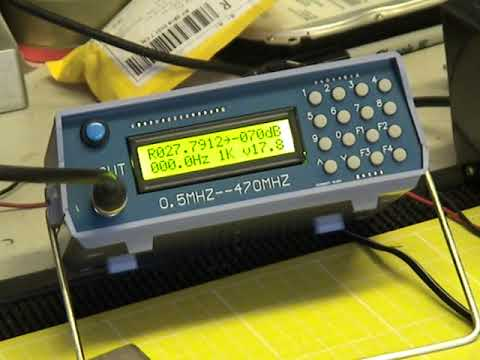 CB Servicing On A Shoestring Budget (UK) -  RX On Cheap Chinese FM Signal Generator