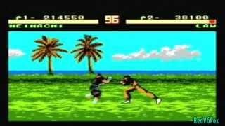 Pirated games: Tekken 2 (NES) Gameplay