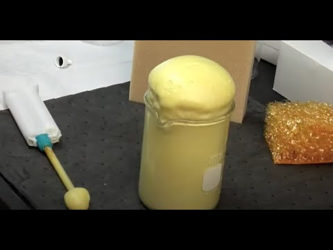 Real World Nasa Inventions Polyimide Foam Youtube