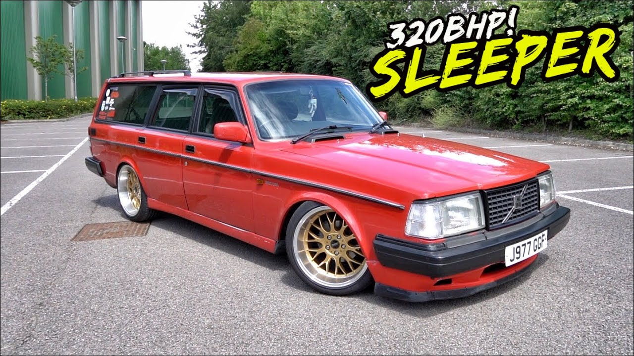 THIS HOME BUILT ENGINE SWAPPED 320BHP VOLVO WAGON IS NUTS!