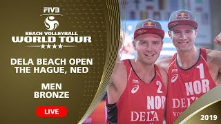 Men's 3rd Place Match: RUS vs NED | 4* The Hague (NED) - 2019 FIVB Beach Volleyball World Tour