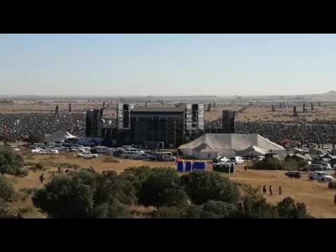 Bloemfontein Prayer meeting with Angus Buchan