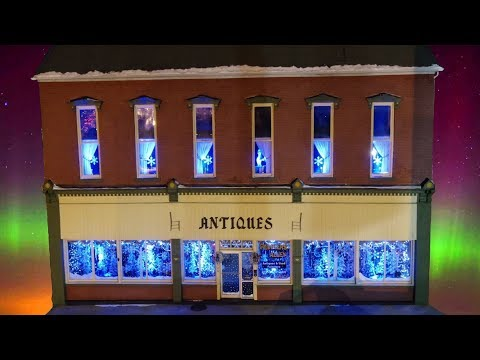 Christmas Shopping At Peddlers Alley Frankfort, Indiana    The Blood Medley By Athem Lights