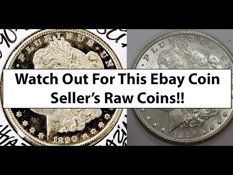 Toliverjamescoins Ebay Coin Seller Review - How NOT To Take Coin Images