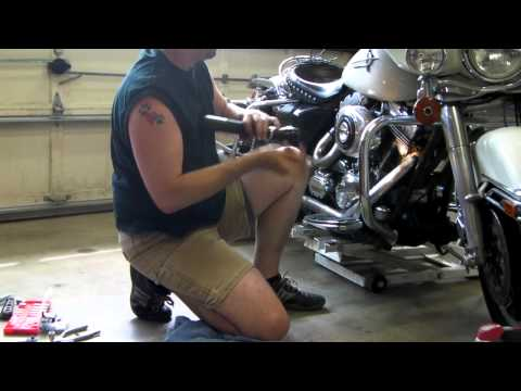 1. Harley cam chain tensioner replacement on a Twin Cam