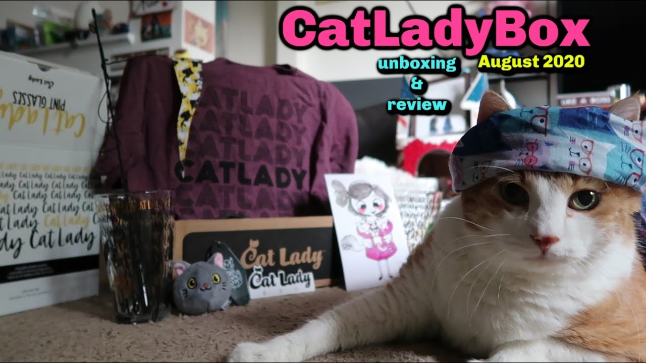 CatLadyBox Unboxing And Review | August 2020