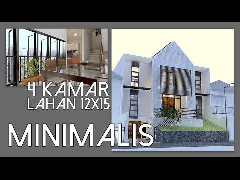 2 Storey Minimalist house design + basement