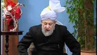 Urdu Tarjamatul Quran Class #98, Surah Al-Anfal v. 12-29, Islam Ahmadiyyat