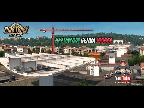 [ETS2 v1.37] Ankündigung der Operation – Genoa Bridge
