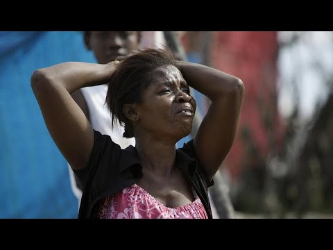 Haitians gather outside US embassy seeking asylum from insecurity