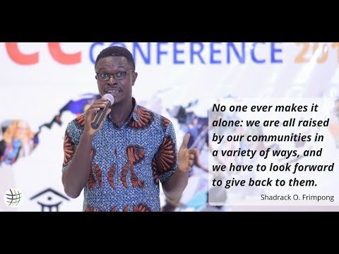 Shadrack Osei Frimpong: Giving back to our Communities