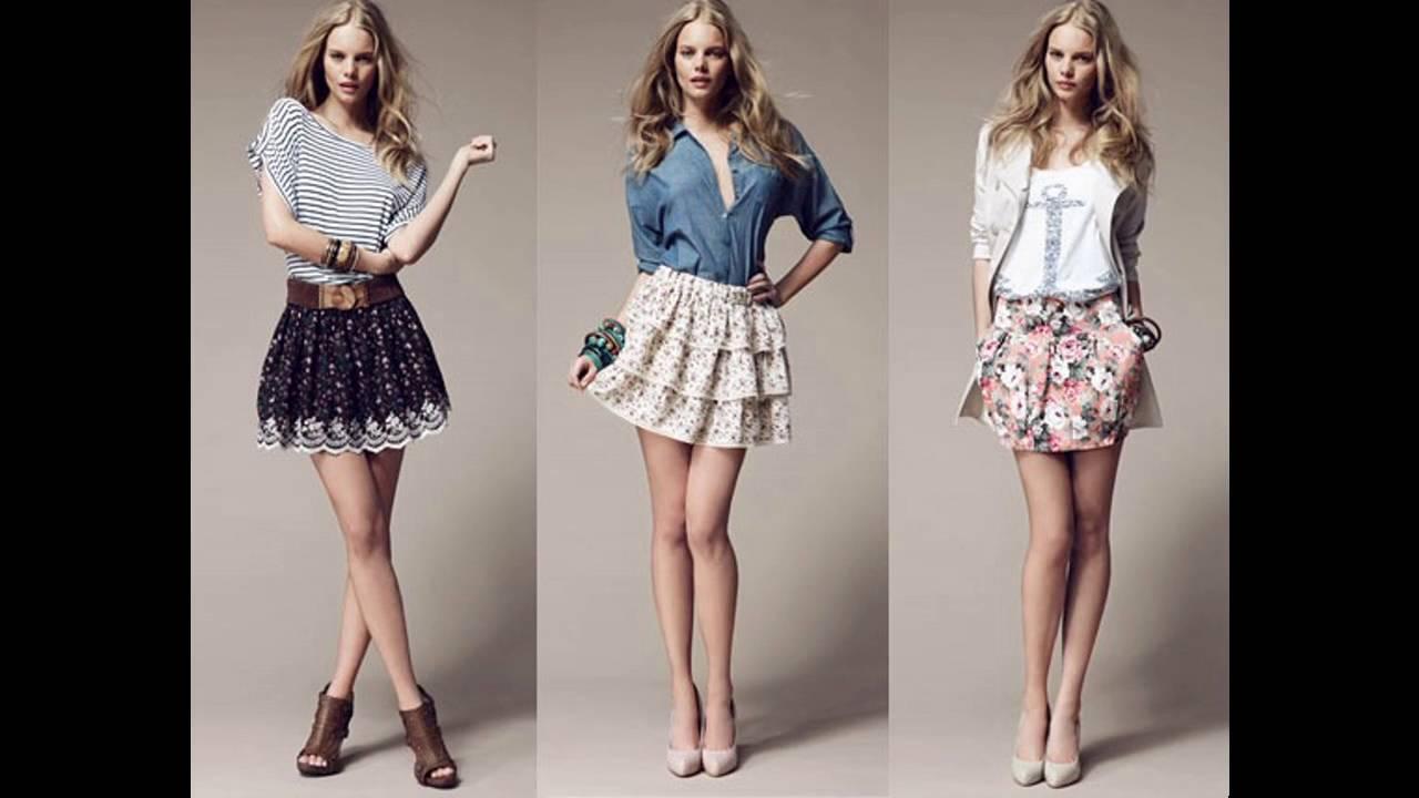 ca1decfe74 Tendencias de Moda Todas las tendencias Ropa de moda faldas y blusas ...
