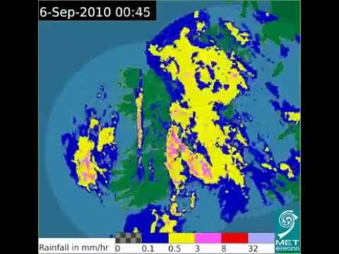 Time-lapse Irish Weather Radar
