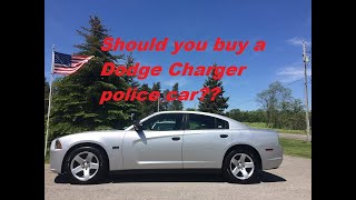 Should you buy a Dodge Charger police car?