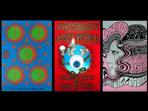 PSYCHEDELIC 60'S POSTER COLLECTION FOR SALE!